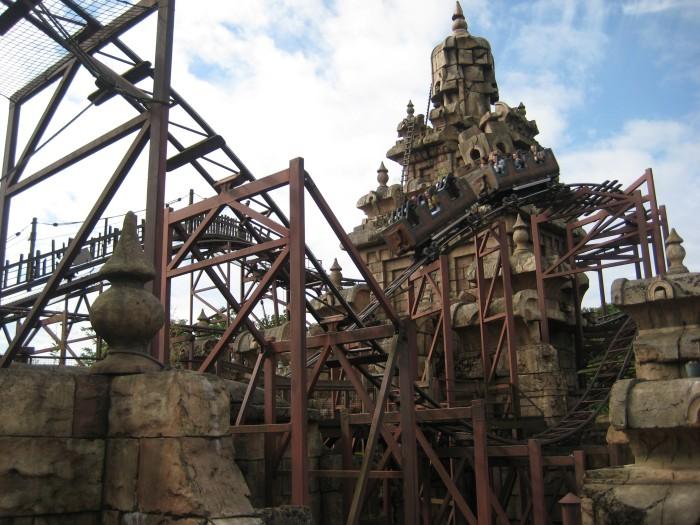 Indiana Jones Achterbahn Disneyland