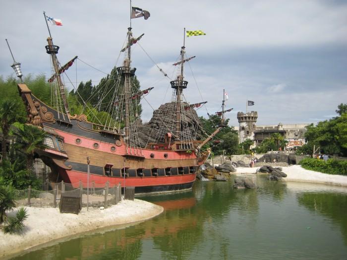 Disneyland Fluch der Karibik - Schiff