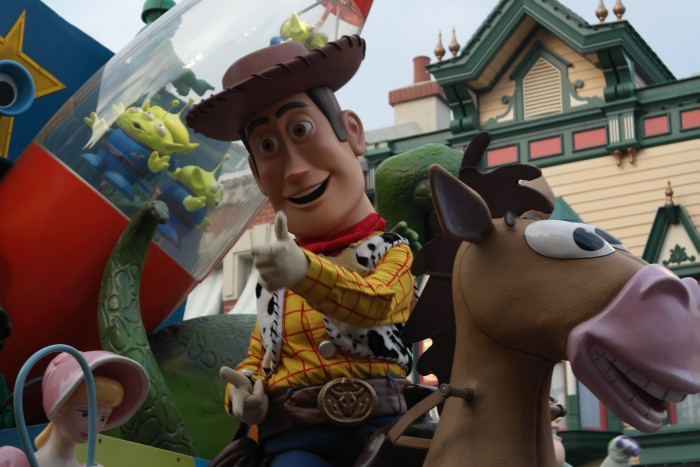 Disneyland Parade Toy Story