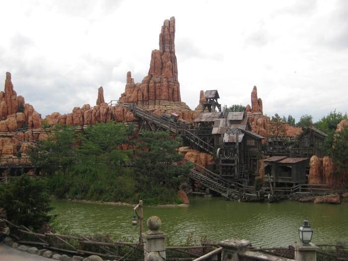 Big Thunder Mountain Disneyland