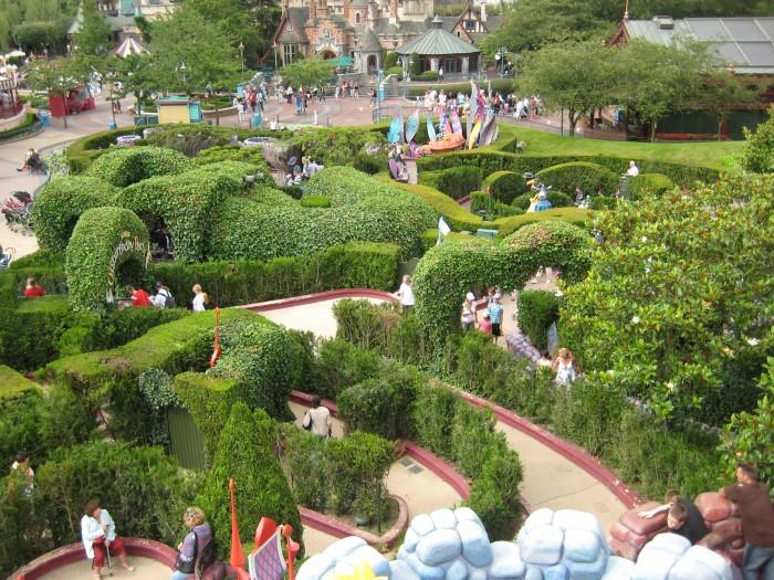 Alice im Wunderland - Labyrinth