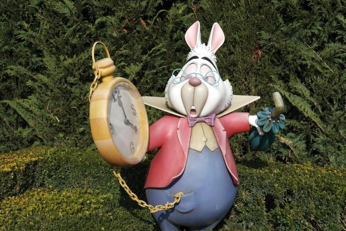 Alice im Wunderland - Kaninchen