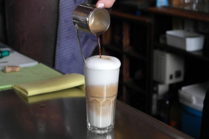 Bistro Zicke Latte Macchiato