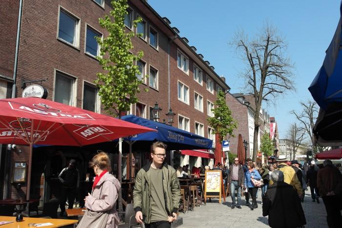 Altstadt Düsseldorf tagsüber
