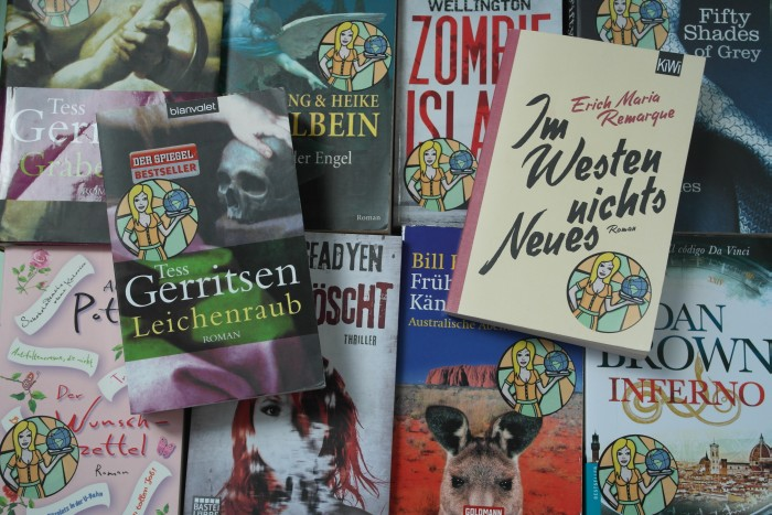 Caros Bücherregal auf Weltreise – Teil 1