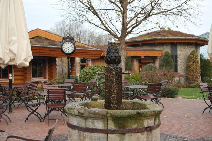 Leben à la carte: Terrasse Felsentheke Saunawelt H2O Herford
