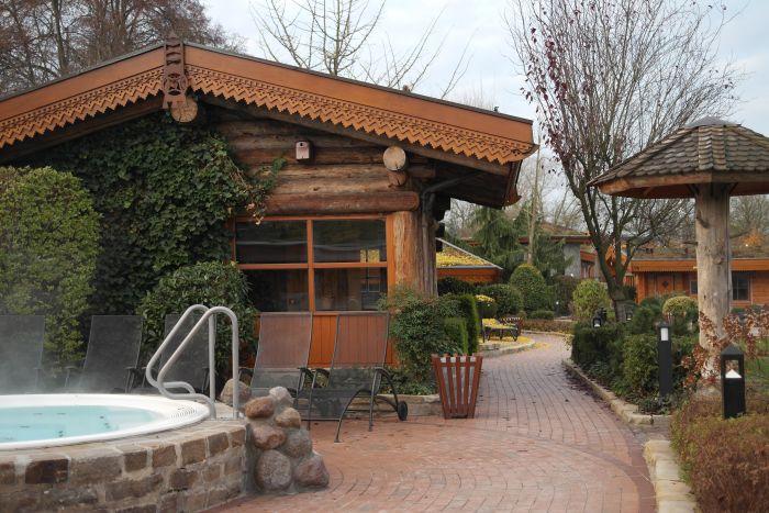 Leben à la carte: Außen-Whirlpool Saunawelt H2O Herford