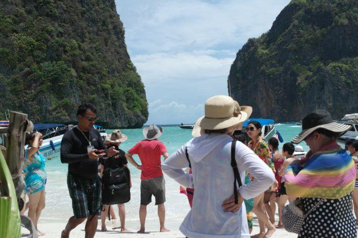 Maya Bay überfüllt