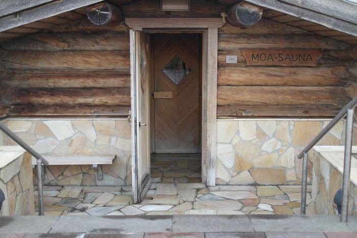 Leben à la carte: Moa-Sauna Järvesauna Gütersloh