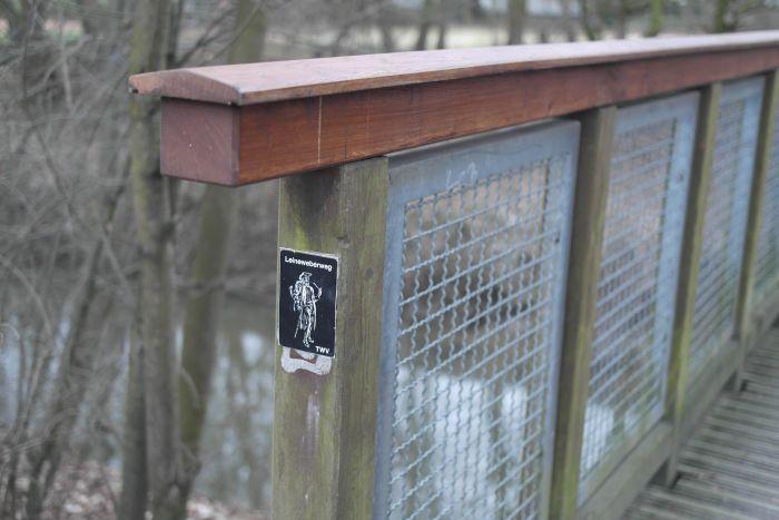 Wandern auf dem Leineweberweg: Schnitzeljagd durch Bielefelds Norden