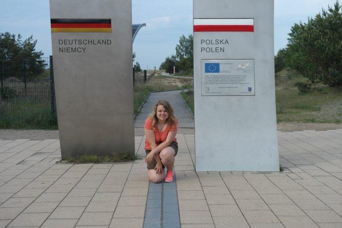 Usedom Karte Grenze.Zu Fuß Von Deutschland Nach Polen Leben à La Carte