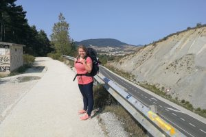 Camino Francés: Schmerzen, Willensstärke und ein berühmtes Hippo auf dem Weg nach Pamplona (Jakobsweg Etappe 3)
