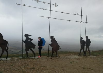 Camino Francés: An 2 Tagen von Pamplona über den Alto del Perdón nach Puente la Reina (Jakobsweg Etappe 4+5)