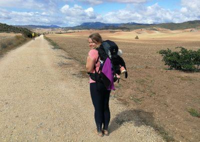 Camino Francés: Beeindruckende Landschaften auf dem Weg nach Los Arcos und Stierhatz in Viana (Jakobsweg Etappe 7+8)