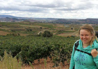 Camino Francés: Erste Zweifel in Logroño und drohender Zusammenbruch in Nájera (Jakobsweg Etappe 9+10)