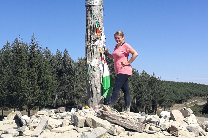 Camino Francés: 35 Kilometer über das Cruz de Hierro nach El Acebo und weiter nach Cacabelos (Jakobsweg Etappe 27+28)
